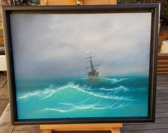 Stormy Seas  - Original oil painting