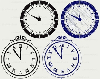 Wall Clock svg,Clock clipart,clock svg,clock silhouette,clock cricut cut files,clock clip art,clock digital download designs,svg,dxf