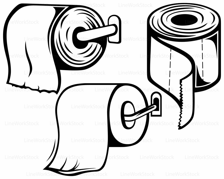 toilet paper svg toilet paper clipart toilet paper svg toilet paper silhouette  cricut cut files outhouse clipart images outhouse clip art coloring pages