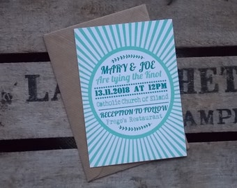 Rustic Vintage Wedding Invitations Vintage