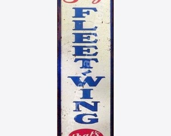 Fleet Wing That's All Vintage Look Reproduction 6x18 Metal Sign 6180132