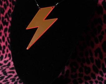 Acrylic Bolt necklace