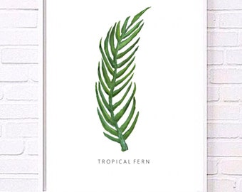 Botanical Leaf Minimalist Print collection