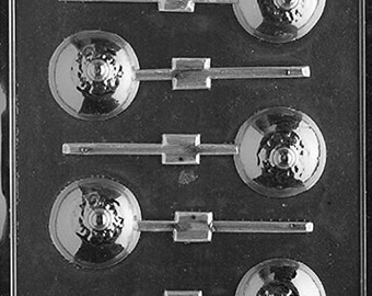 Boobs Lollipop Chocolate Mold - XX521