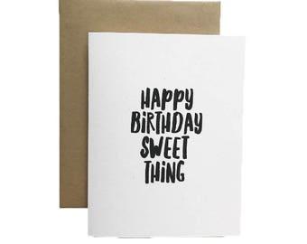 Happy Birthday Sweet Thing