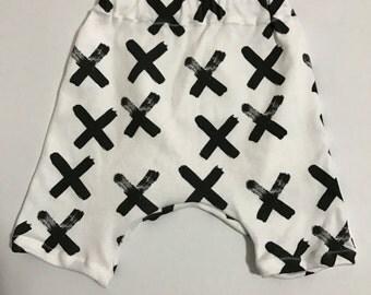 Harem Shorts, Baby Shorts, Hipster Shorts, X's 2T