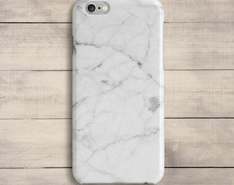 White Marble Case iPhone 7 Case plus Marble White Stone iPhone 6 Plus 6S iPhone 5C iPhone 5s 4s Samsung Galaxy S4 S5 S6 Note iPad Mini