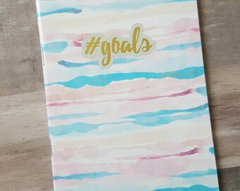 Lined Goal Notebook