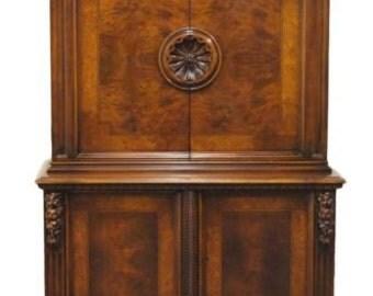 1920's Antique Ornate 44″ Court Cupboard Attrib. to Robert Irwin / Phoenix Fu...