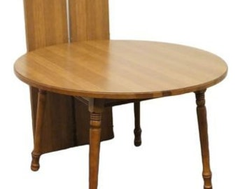 TELL CITY Young Republic 47u2033 Round Dining Table 8163F Part 34