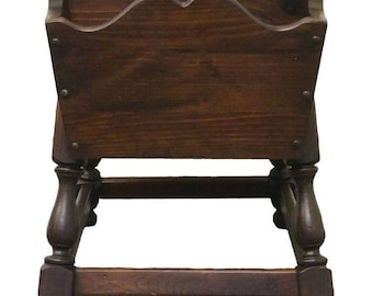 ETHAN ALLEN Antiqued Pine Old Tavern Doughbox End Table 12-8026