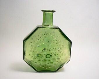 Vintage Scandinavian bottle vase Stella Polaris by Nanny Still for Riihimaen Lasi OY (Riihimaki)