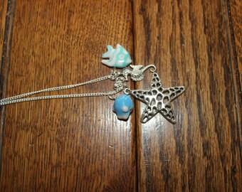 starfish and ceramic fish