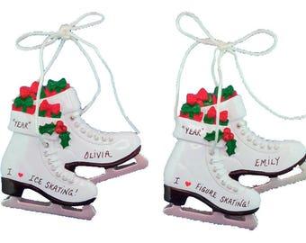 Figure skating ornament | Etsy