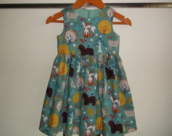 Woodland Friends dress