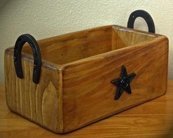 Rustic Western Decor...The Sage Brush Mountain Handmade Storage Box
