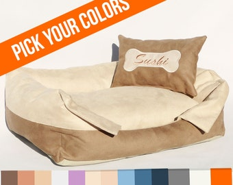Dog Bed CHARME personalized