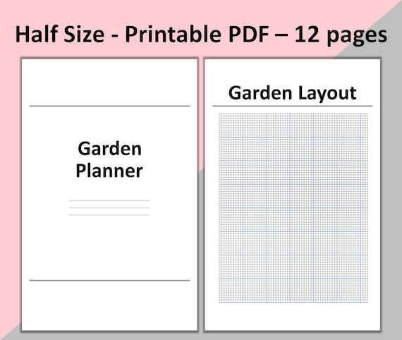 garden planner printable garden planning garden journal for