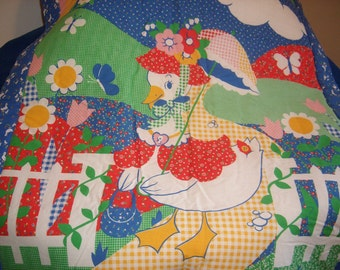 Mother Goose Baby Quilt