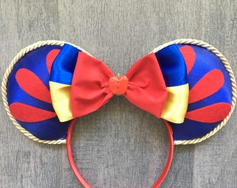 Snow White inspired ears