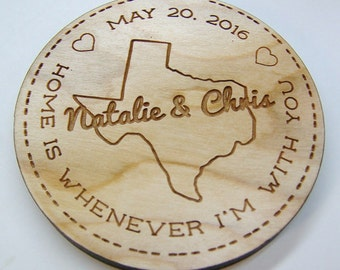 Wood Coaster Set - Custom Coasters