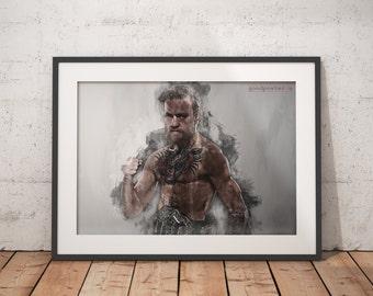 Conor McGregor notorious poster Conor McGregor print mma ufc