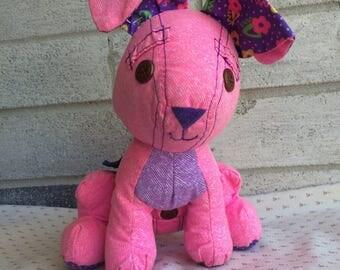 Vintage 90s Doodle Pet, Doodle pet rabbit, Vintage Doodle Pet pink rabbit , Doodle Pet Bunny