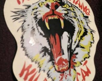 Tygers of pan tang , vintage sticker !!