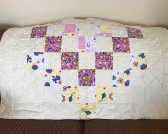 Child's Flannel Quilt Handmade