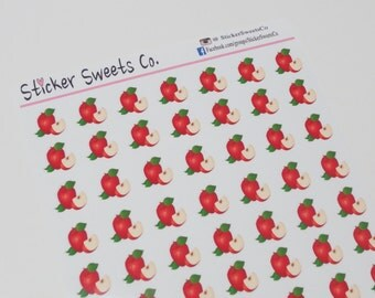 Apple Food Stickers