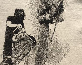Grateful Dead Shirt-Jerry on a Camel in Egypt Lot Shirt-Sizes S M L XL XXL