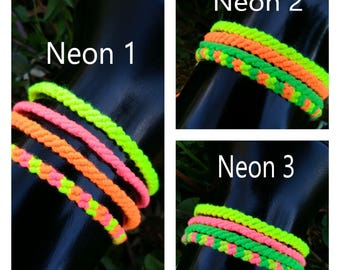 Neon Friendship Bracelet Sets