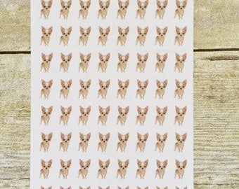 Chihuahua Puppy Dog Stickers bx66