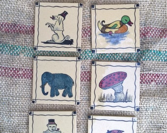 Children wall tiles