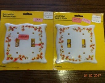 Set of 2 Decorative Switch Plates