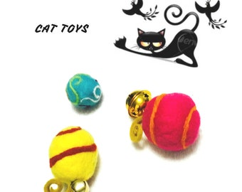 Unique Cat Toys, Cat toy Bells, Cat Toys and curly tails, Cat lover Gifts, Original cat Toys, Cat Stuff, Cat Things, Gift for Cats