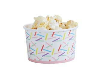 Ice Cream Cups | Sprinkles Treat Cups | Sprinkles Party | Confetti | Donut Party | Quality Paper Cups | Party Supplies | The Party Darling