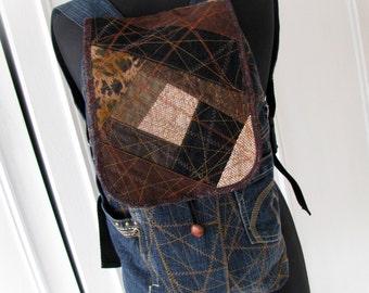 Jean backpack Denim backpack Recycled jeans Denim rucksack Jeans backpack Jeans rucksack Patchwork backpack Unique jeans backpack