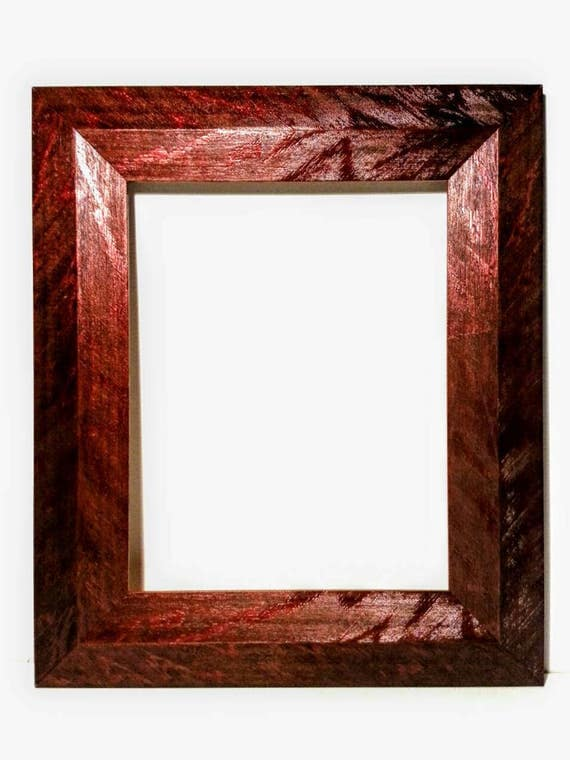 3 Quot Wide Mid Century Modern Picture Frames Red Or White