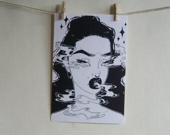 A Curse Art Print
