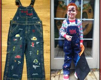 Kids Chucky Costume Toddler Baby Child Custom Made Child's Play Good Guy
