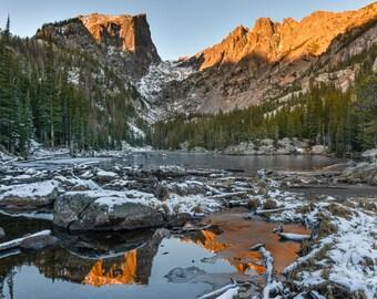 Dream Lake Sunrise - Rocky Mountain National Park - Colorado Photography