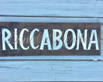 Last name sign, wedding gift, bridal shower, 5th anniversary gift, couples names, reclaimed wood sign