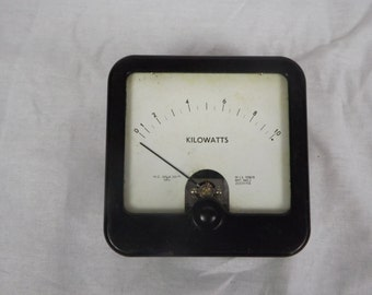 Vintage meter - Possibly volt meter - rated to 500 UA