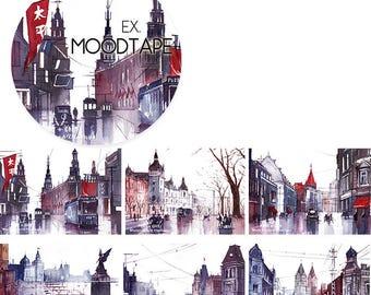 City Of Nostalgia // Decorative Washi Tape // City Series // Scrapbook, Journal, Planner Essentials