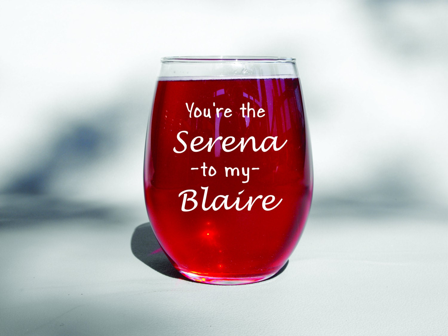 Best Dishwasher For Wine Glasses Deep Engraved Dishwasher Safe Youre The Serena To My Blair Best