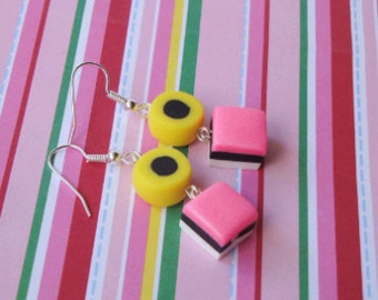 English liquorice Earrings