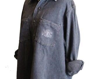 Harley Davidson HOG Denim Shirt