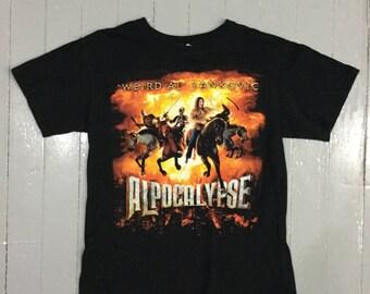 Weird Al Alpocalypse t-shirt