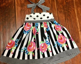 Baby girl halter dress